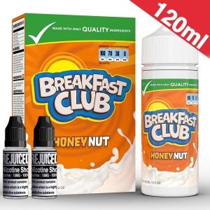 120ml Crunchy Honey Nut - Breakfast Club Shortfill