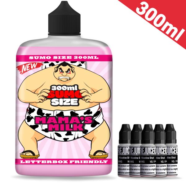 300ml Big Mama's Milk - Sumo Size Shortfill