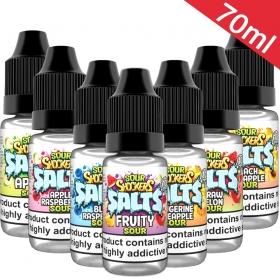 70ml Sour Shockers - Nic Salt Sample Pack