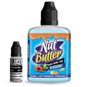 Blueberry Peanut Butter Jelly - NutButter Shortfill