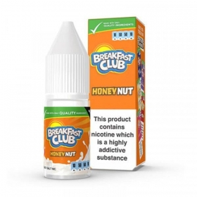 Crunchy Honey Nut - Breakfast Club - Nic Salt