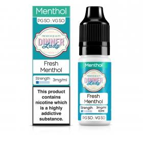 Fresh Menthol 50VG - Dinner Lady