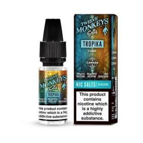 Tropika Nic Salt - Twelve Monkeys