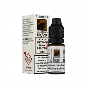 Honey Roasted Bacco Nic Salt - Element