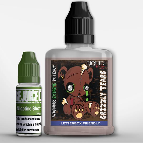 Grizzly Tears - LiquidRage Shortfill