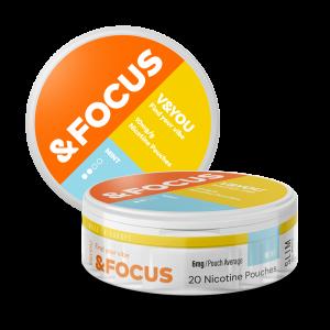 Mint Focus - Nic Pouches - V&YOU