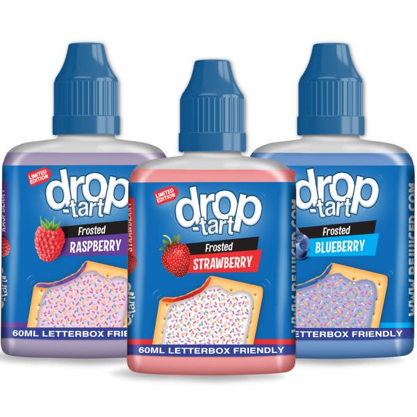 180ml DropTart  Shortfill Sample Pack