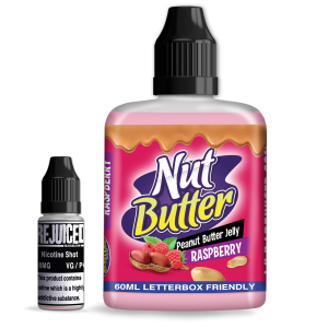 Raspberry Peanut Butter Jelly - NutButter Shortfill