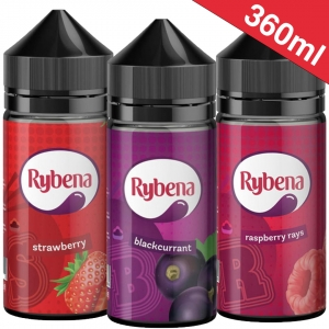 360ml Rybena - Shortfill Sample Pack