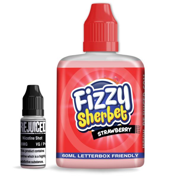 Strawberry Fizzy Sherbet -Shortfill